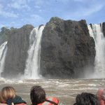 Rafting in the River Iguacu