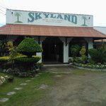 Skyland Hotel Restaurant and Delicatessen Entrance
