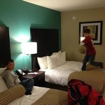 Boys loved it, rooms were very clean