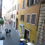  View from window of Leonardo room