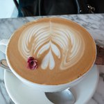 Rose Coffee Latte