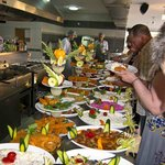 Restaurant (buffet night) at Apollon Holiday village