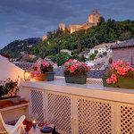 Penthouse Private terrace with Alhambra view
