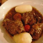 traditional dish, meat and potatoes