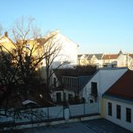  Viennese rooftops from my window.