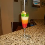 Welcome Fruit chocktail