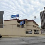 Motel 6 from Courtland Street