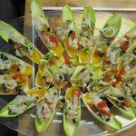 Endive with cod and orange
