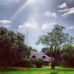 Rainbow over the Bushbuck River House