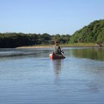 Canoeing on the Rio Negro