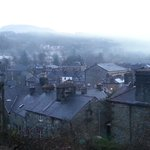  view of Dolgellau from room