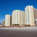 Wyndham Ocean Blvd... R-L, Tower 1, 2, and 3