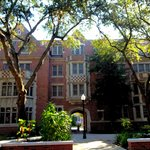 Fletcher Hall Courtyard