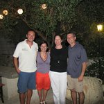 With Francesco and Francesca under the Olive Tree