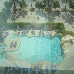 View of the pool from top