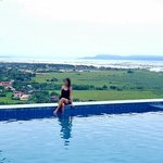 me at the infinity pool