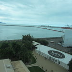  View from our room of the Port entrance