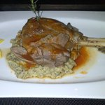 Lamb Shank with Kuzu Incikli Hunkar Begendi