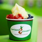 Our delicious froyo!  Flavored with real ingredient, no powdered flavoring here!