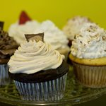 Our yogurt based cupcakes are baked fresh daily in our store!