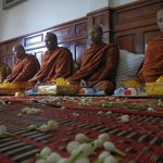 An amazing ceremony with monks