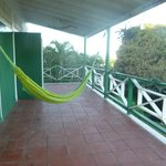  hammock on the deck