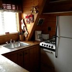 Cozy Kitchen in cabin #16