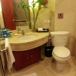 Standard room's bathroom