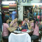  The seamstresses at Blue