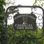  Road Sign for Cahergal Farmhouse