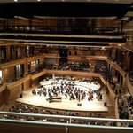the symphony hall -- very woody with good acoustics