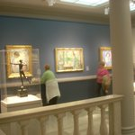  This gallery of American Impressionists include Childe Hassam and Frank Benson