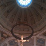 Cross above the altar