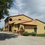  L&#39;esterno dell&#39;agriturismo