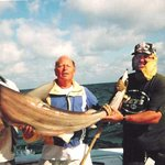 Here is a shark we caught.