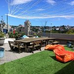 Awesome location for a rooftop party!
