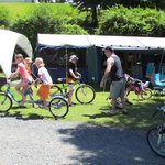  Camp has many &#39;xtras&#39; available ie tandem bikes, games room