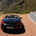 Driving to Franschoek