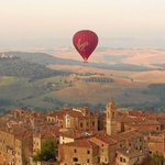 Ballooning in Tuscany