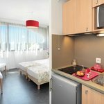  Park&amp;Suites Elegance Montpellier Millenaire - Kitchen Corner Twin Room