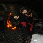  greek fire dancing