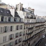 View from room to Rue d' Artois