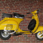 One of our Vespas
