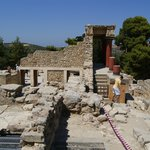 Knossos, ancient area.