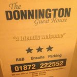 Photo de The Donnington Guesthouse