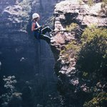 abseiling with high and wild