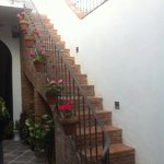  decoracin de escalera en patio