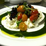 burrata cheese caprese salad