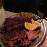 Middle Eastern Meat Platter for 2 at Ba'Ghetto