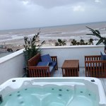  Jacuzzi on private balcony of suite